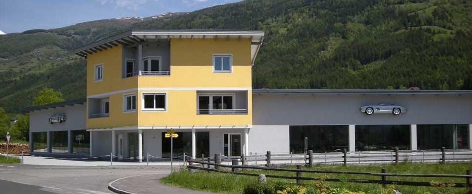 Frontalansicht Firmengebäude